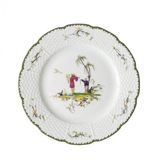 Китайски порцеланSi-Kiang, чиния за салата, 133 долара/бр  jungleeny.com