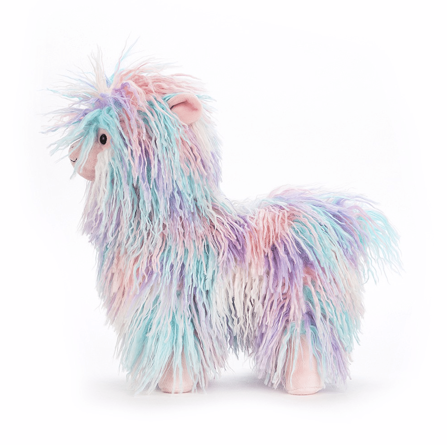 Jellycat Очарователна Лама  Намираме цветната играчка от lufokids. Цена: 50,00 лв.