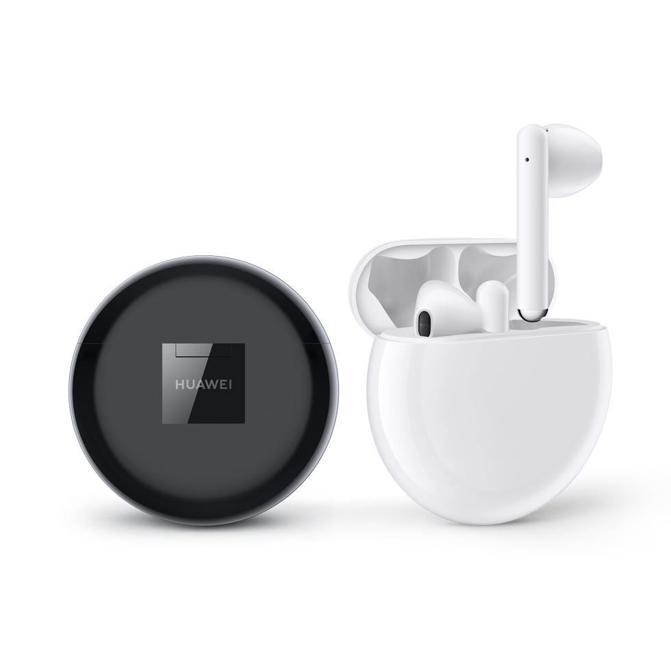 Huawei Freebuds 3 Леки за носене, с перфектен минималистично-модерен дизайн, ергономични извивки и облицовка в лъскаво бяло - безжичните слушалки са сътворени за удобство и пълна наслада, навсякъде и по всяко време. Цена: 349 лв.