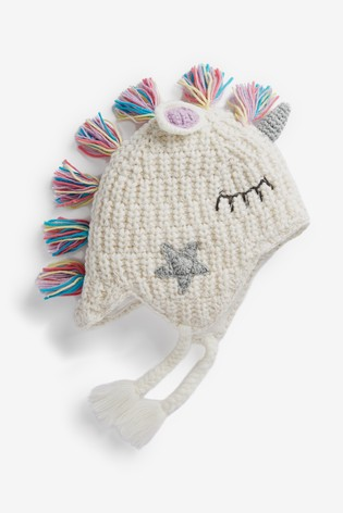 White Unicorn Trapper Hat от NEXT Цена: 23 лв.