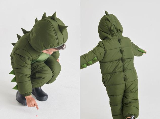 Грейка за сняг от NEXT If you wanna be a little green Dino! Цена: 69 лв.