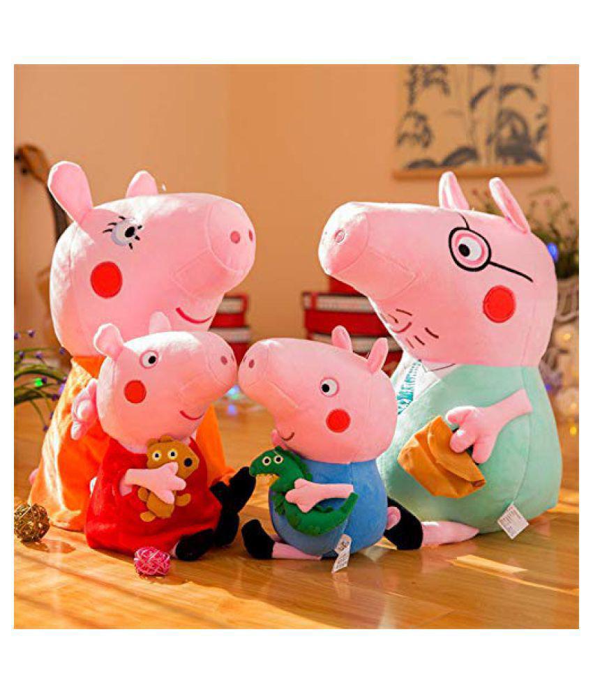Peppa Pig Family-майката, бащата, Пепа и Джордж. Цена: 25 лв.