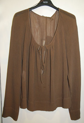 Блуза от крепиранакоприна Hugo Boss,бутик Vayk, 245 лв