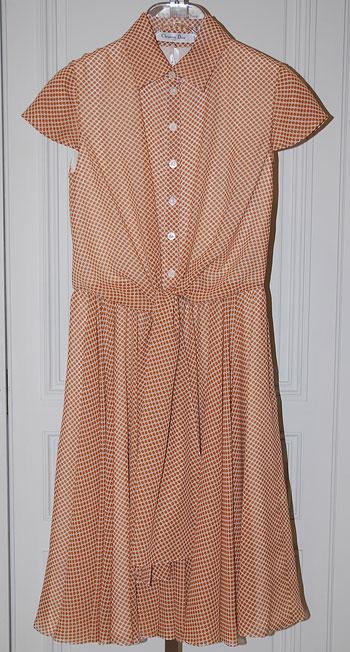 Рокля Christian Dior,бутик Garde robe,цена при поискване