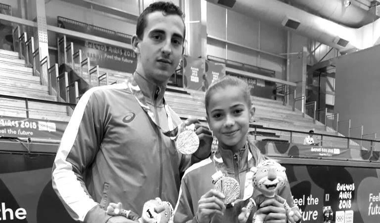 Акробатите - Мариела Костадинова и Панайот Димитров Започваме класацията ударно, с прекрасната ни смесена двойка, представяща България в акробатиката, завоювала не един, а цели два златни медала тази година - един от младежките олимпийски игри в отборна надпревара в Буенос Айрес и втори от същата олимпиада, но в индивидуално състезание. Опровергаваме теориите, че българите нямаме с какво да се гордеем, особено в спорта, и казваме огромно БРАВО на Мариела и Панайот! снимка: Дневник