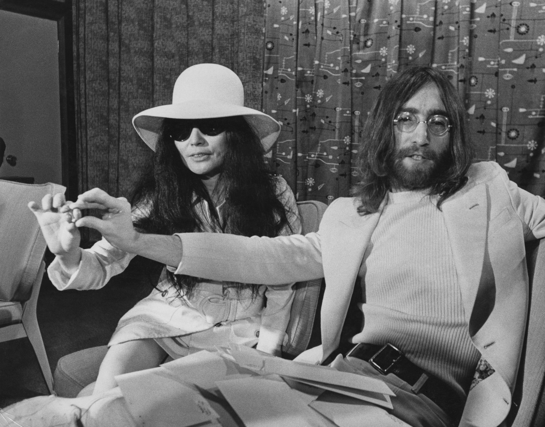 Йоко Оно и Джон Ленън