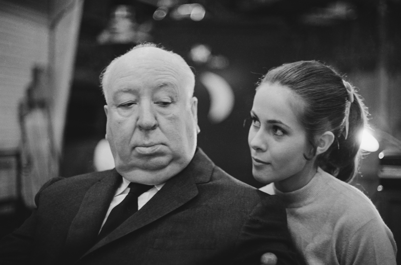 Хичкок с френската актриса Клод Джейд, 1969
