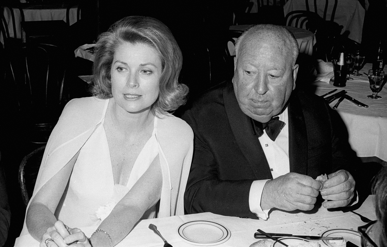Принцеса Грейс на Монако и Хичкок, 1974