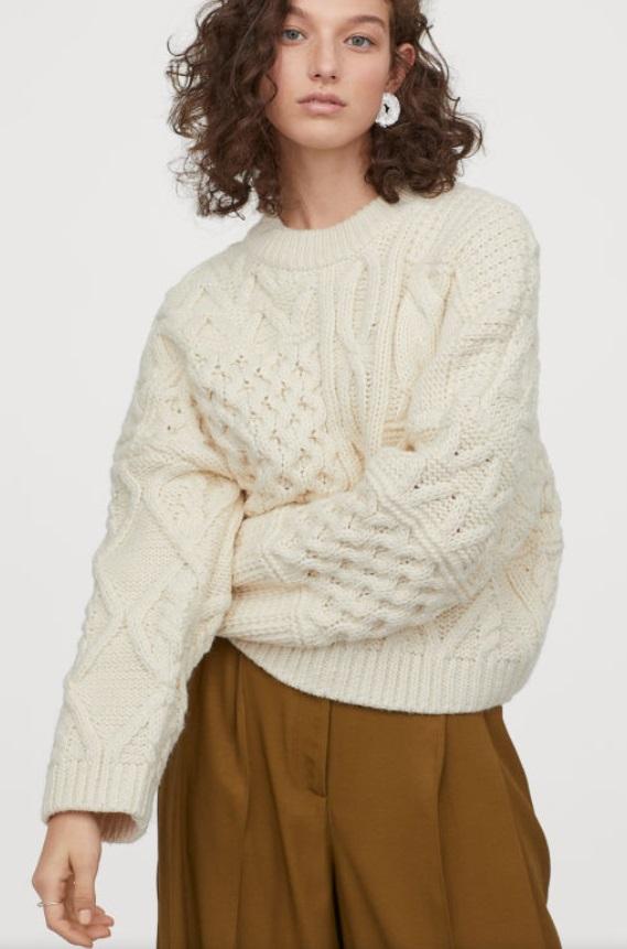 Пуловер H&M от 75лв. на 35лв.