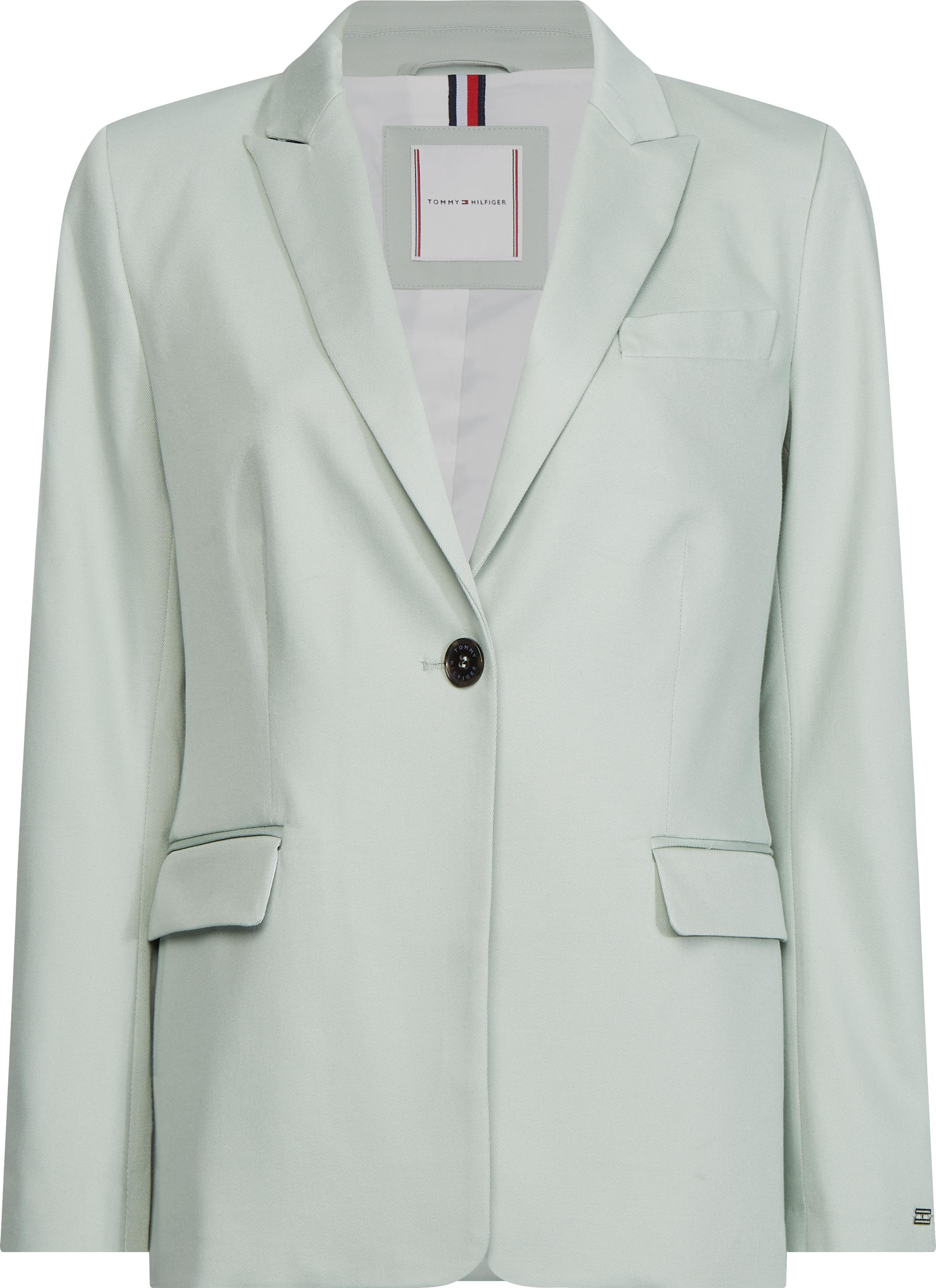 Блейзър 520 лв. Ментовият костюм е задължителен елемент в шопинг списъка ни този сезон, а този дизайн отговаря на всички изисквания.