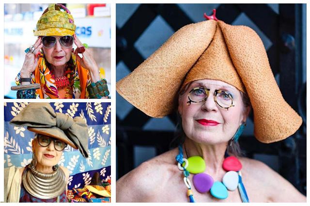 @debrarapoport име: Дебра Рапопорт години: 71 повече: влюбени сме в тези луди шапки, колоритни палта, а най-якото е, че Дебра ги прави сама!