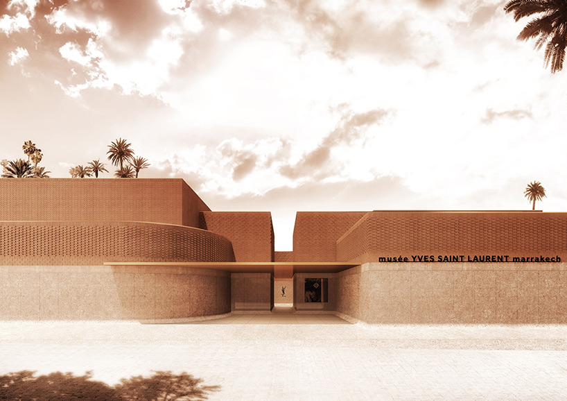 Museé Yves Saint Laurent, Маракеш, Мароко