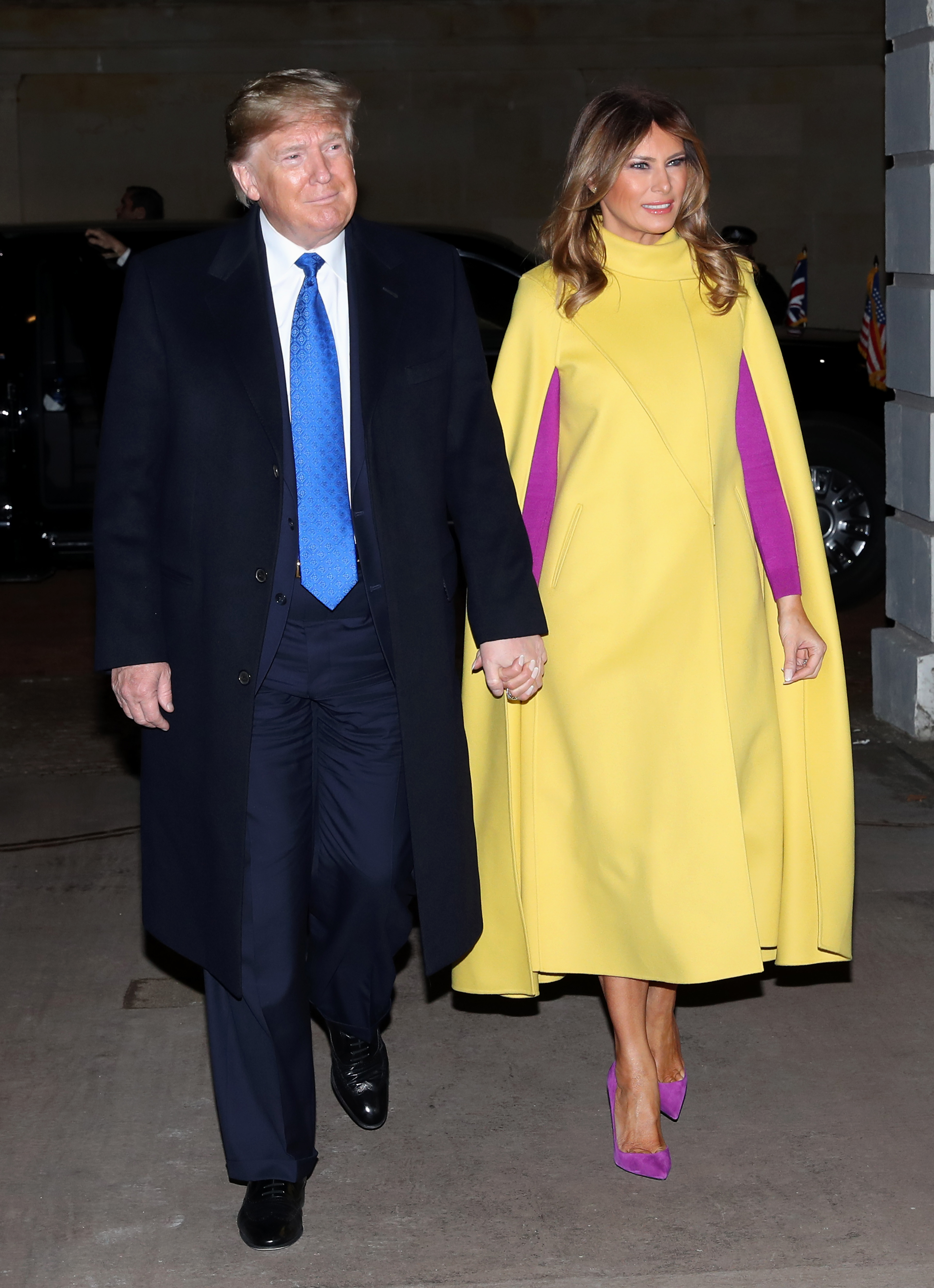 Доналд и Мелания Тръмп