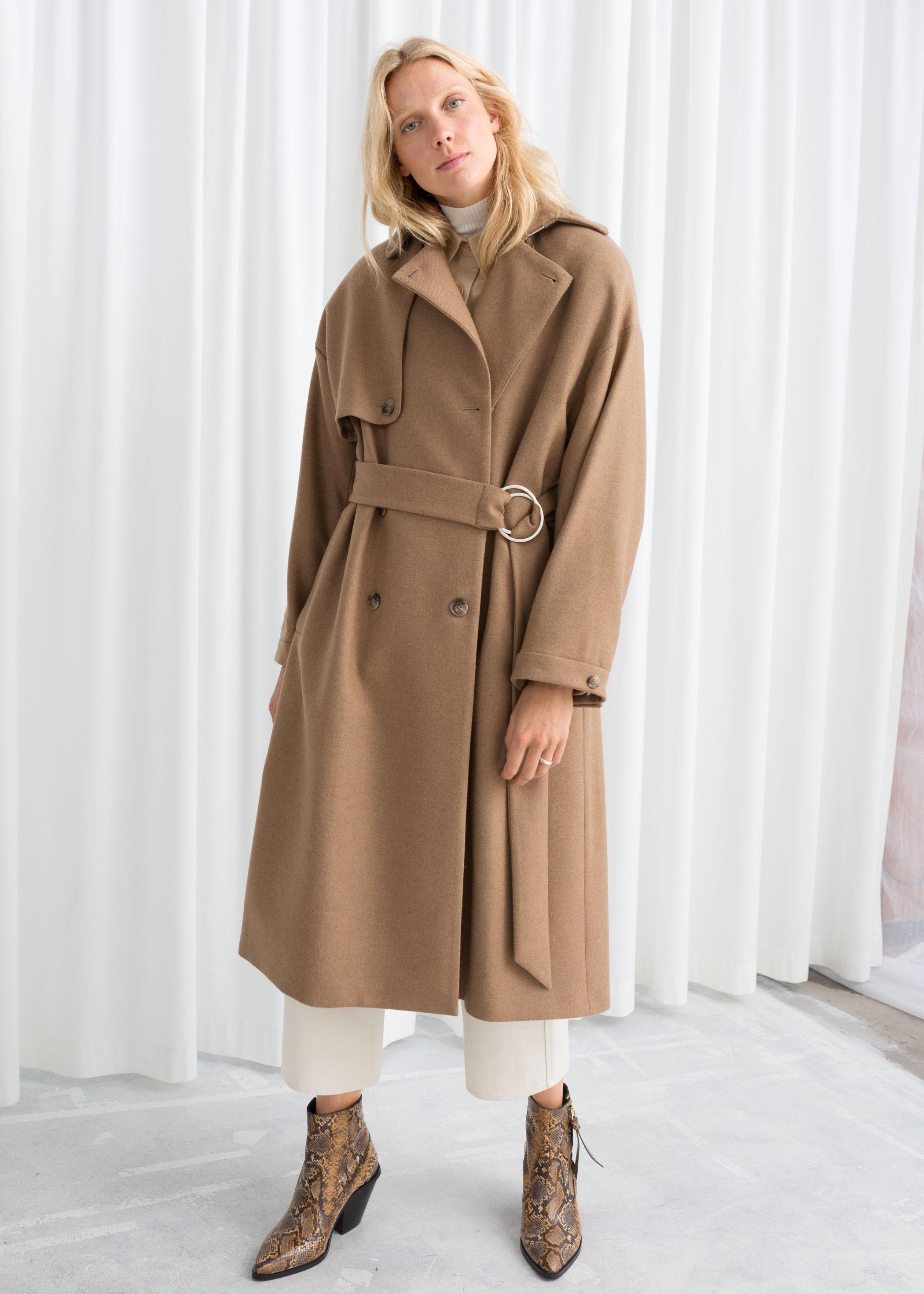 Палто от вълнена смес  от 384лв. на 193лв.