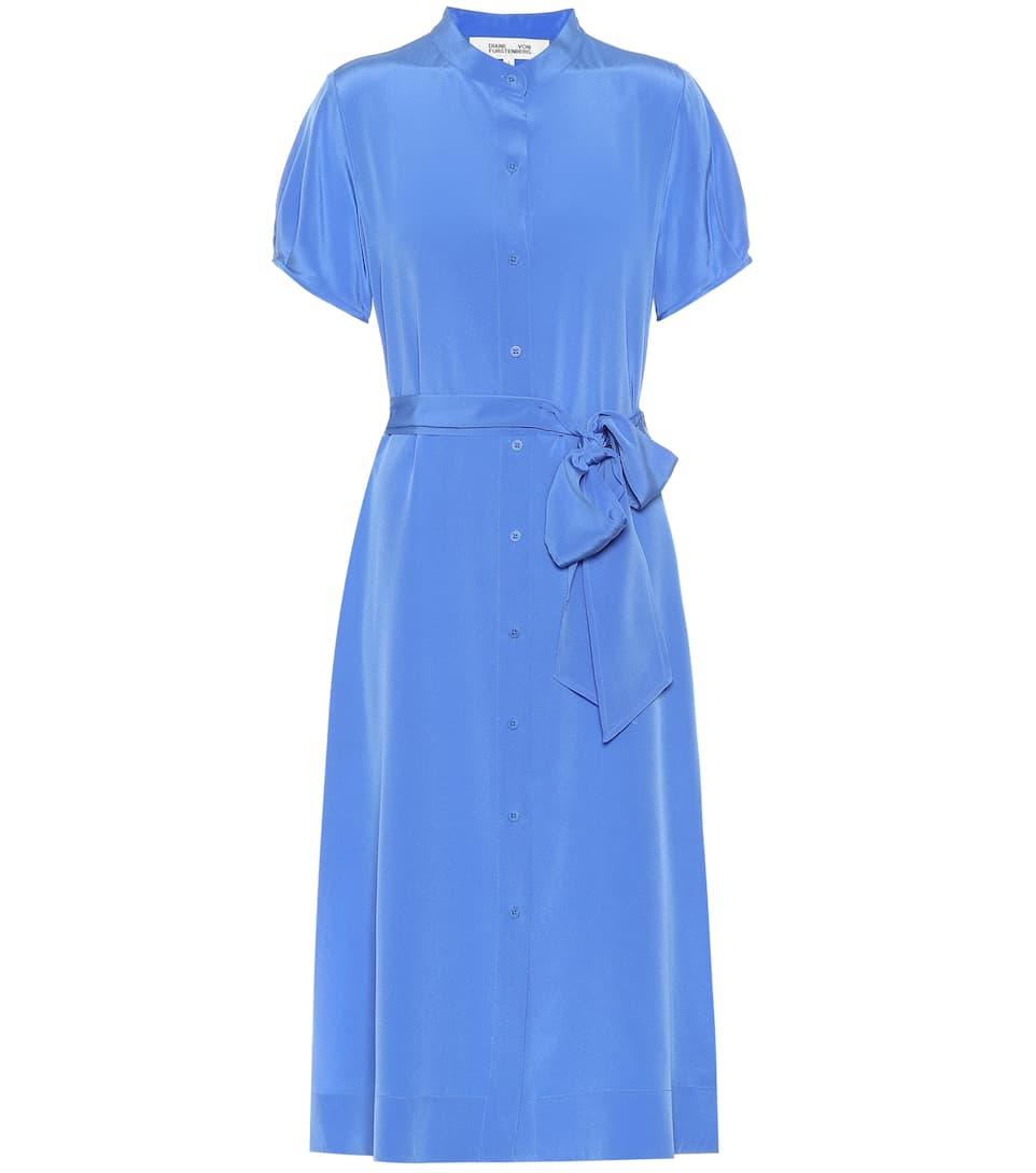 Копринена рокля Diane von Furstenberg от 831лв. на 581лв.