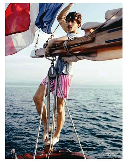 Vincent Banic за GQ Франция