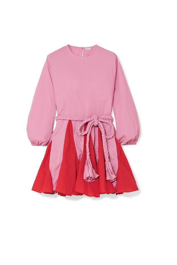 Двуцветна рокля от Rhode Resort 771 лв.