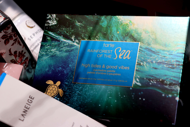 Tarte Rainforest of the Sea, палитра  сенки за очи