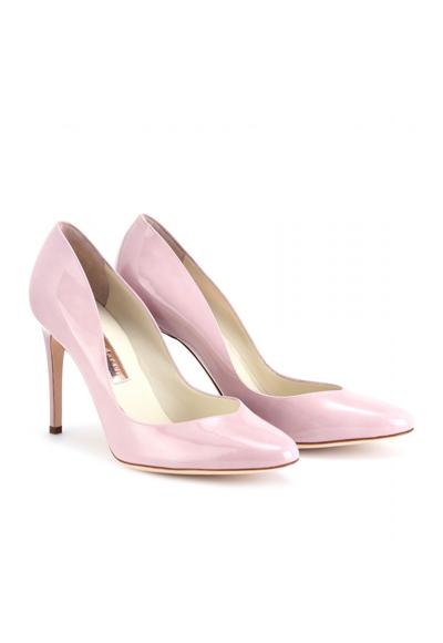 Обувки в пастелно лилаво Rupert Sanderson, 429 евроmytheresa.com