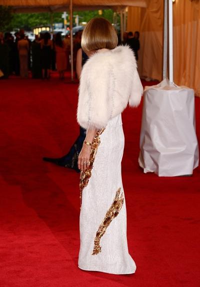 Ана Уинтур в Prada на Met Gala 2012
