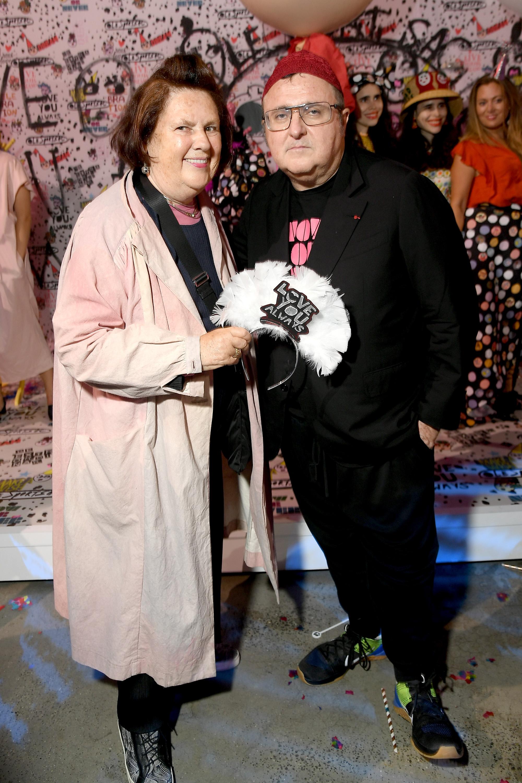 Сузи Менкес с Албер Елбаз