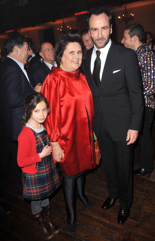 Сузи, внучката й и Том Форд