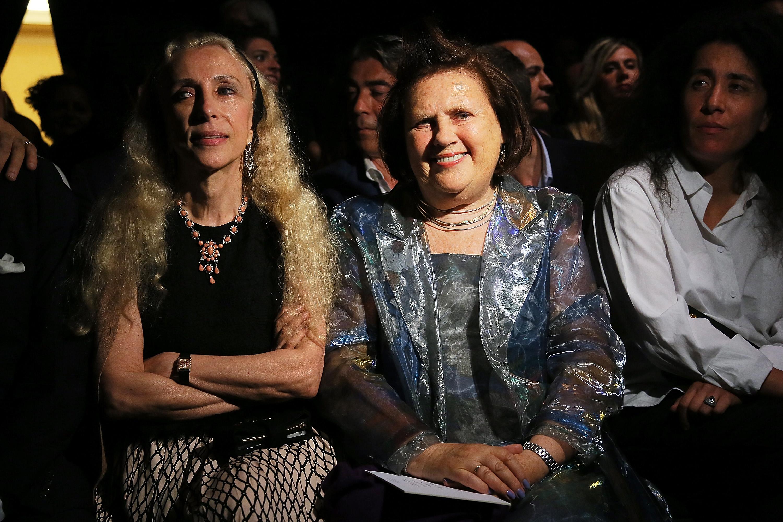 Франка Содзани и Сузи Менкес