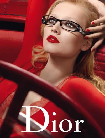 Рекламна кампания за очила Dior, колекция есен 2009 година
