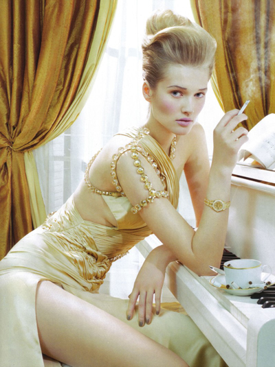 Vogue Italia, март 2010