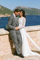 Рафаел Надал и Мария Перейо Запознанство, любов, 14 години гаджета, и чак тогава сватба в деликатни сиви нюанси.