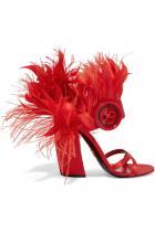 Сандали Prada Редно е най-обсъжданите обувки на сезона да попаднат и в нашия списък с подаръци. 1607 лв.
