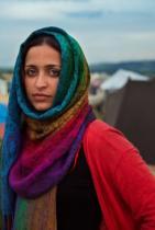Гърция, бежански лагер