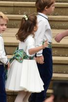 принцеса Шарлот и принц Джордж