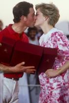 1986 Принц Чарлс и принцеса Даяна