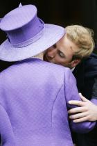 2007 Принц Уилям и кралица Елизабет