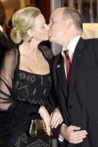 2011 Принцеса Шарлийн и принц Албер на Монако