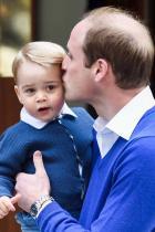 2014 Принц Уилям и принц Джордж