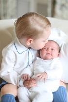 2015 Принц Джордж и принцеса Шарлот