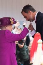 2017 Крал Фелипе на Испания и кралица Елизабет