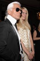 С Клаудия Шифър, 2006 г.