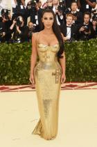 Ким Кардашян в Versace