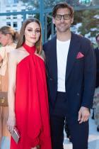 Оливия Палермо и съпругът й Йоханес