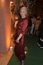 Тамара Бекуит  Облечена в The Vampires Wife на партито ABB FIA Formula E.