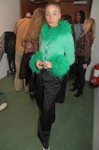 Адуоа Або Облечена в Mimi Wade за фестивала Forces For Change, организиран от британския Vogue.