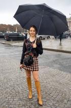 Принцеса Александра от Хановер Носейки Dior за шоуто Dior Spring/Summer 21.