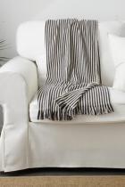Одеяло Ikea 19.90 лв. 180/120 см. Мотивът на райе е винаги адекватен избор, към който нямаме против да се обърнем.