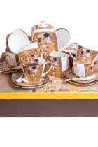 """Сервиз за чай и кафе WISEN 169 лв. Както и да отпиваме от """"Целувката"""""""