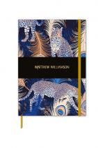 Тефтер Matthew Williamson С твърди корици и невероятен принт, зад който стои самият британски дизайнер Матю Уилямсън, тефтерът идва като чудесна идея, дори и в последния момент. 18 лв.