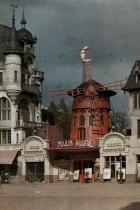 """Оригиналният """"Мулен Руж"""" ; Париж 1914 г."""