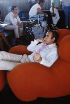 Шон Конъри по време на снимките на Diamonds Forever, 1969 година